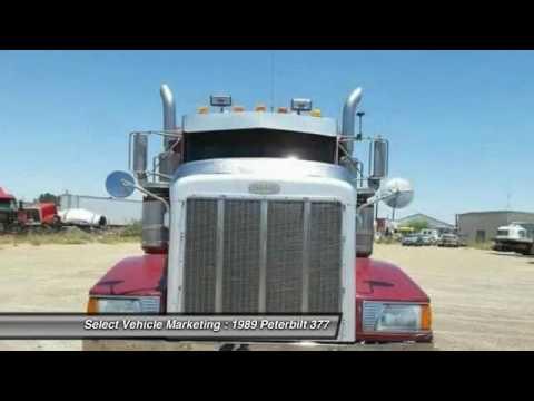 1989 Peterbilt 377 JS2062CS307A - YouTube