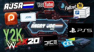 AJS News - Support AJS Join/Patreon!, WWE Y2K Bug, DICE LA Closes, Sony CES & Star Citizen Lawsuit!