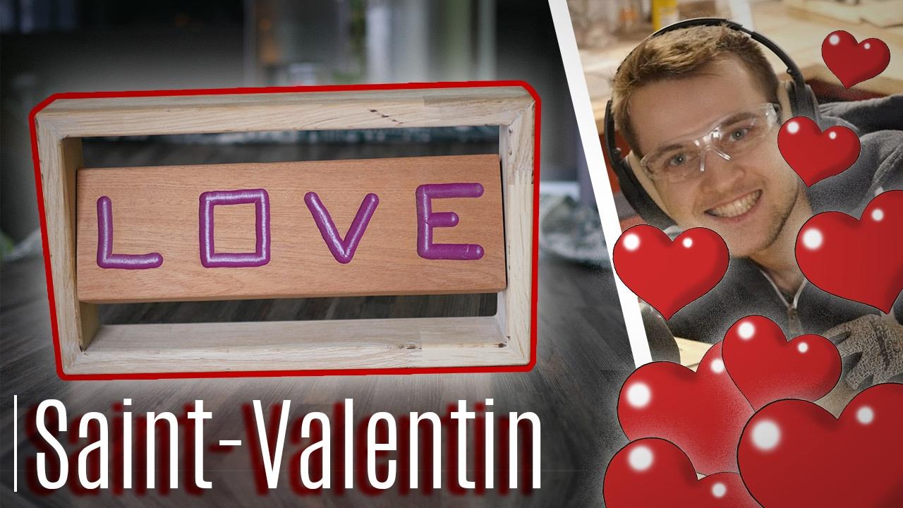 Bricolage Pour La Saint Valentin Youtube