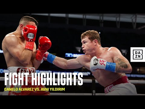 HIGHLIGHTS | Canelo Alvarez vs. Avni Yildirim - DAZN Boxing