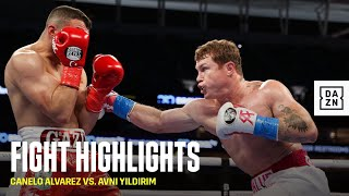 HIGHLIGHTS | Canelo Alvarez vs. Avni Yildirim
