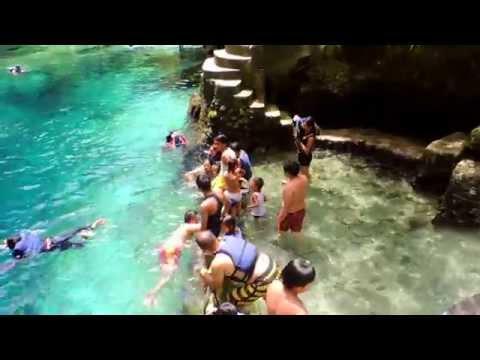 Enchanted River  LUBIANOS Tour  at hinatuan Surigao del sur