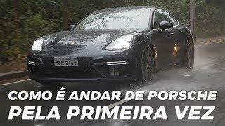 Como é Andar de Porsche Pela Primera Vez - Webmotors