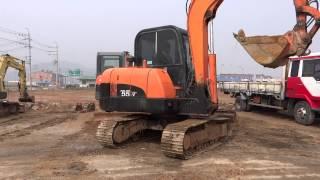 [Autowini.com] Korean used Excavator - Daewoo SL55-VG (recover-029)