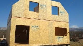 Строительство дома с Симферополе, Заречное 175 кв.м.(Строительство дома с Симферополе, Заречное 175 кв.м. дома под строительство, строительство домов ключ, строит..., 2015-03-16T09:53:16.000Z)
