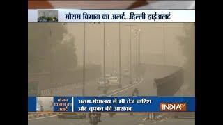 Delhi: Met department issues thunderstorm alert