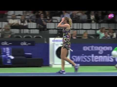 2017 Biel Quarterfinal | Aliaksandra Sasnovich vs Camila Giorgi | WTA Highlights