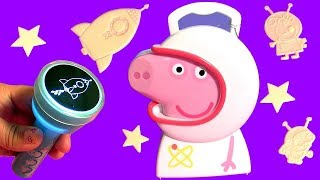 New Peppa Pig Space Astronaut Case Adventure for Kids Toddlers with Toys Surprises by FTC #Funtoys
