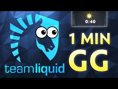 1 MIN GG — When You Meet LIQUID In FINALS On Battle Cup