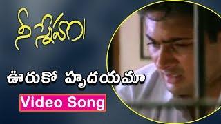 Ooruko Hrudayama Video Song | Nee Sneham Movie Songs | Uday Kiran | Aarti Agarwal | TVNXT Music