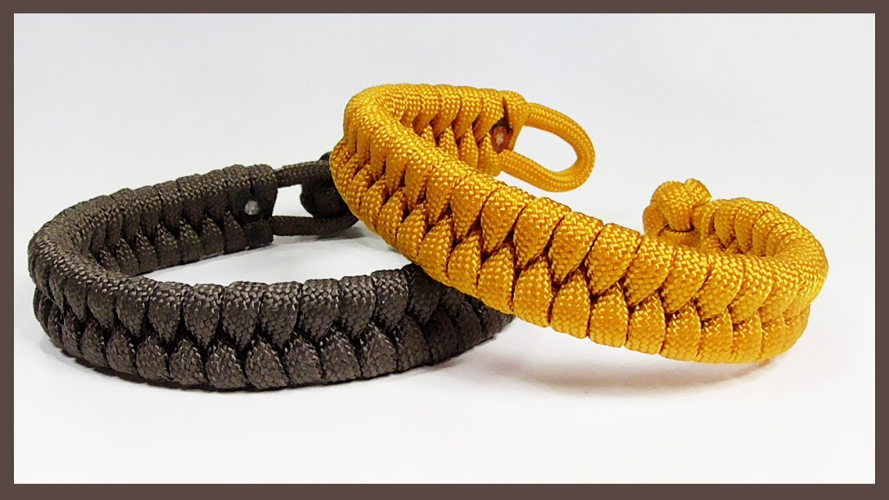Single Strand Quot Rastaclat Style Fishtail Quot Paracord Bracelet