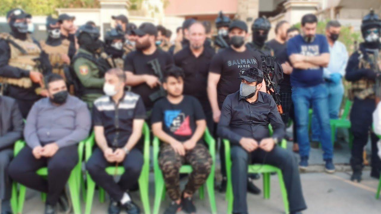 مجلس عزاء الشهيد باسم الشمري بحضور الحاج محمد الباوي