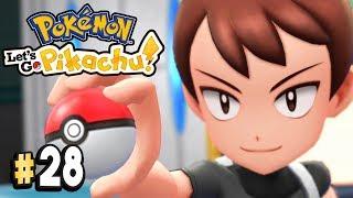 Pokemon Let's Go Pikachu Part 28 THE KANTO CHAMPION Walkthrough Gameplay