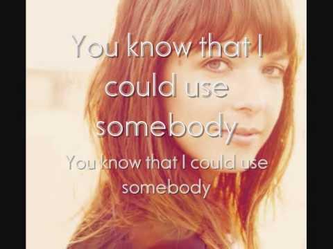 Laura Jansen -  Use Somebody (With Lyrics!!)