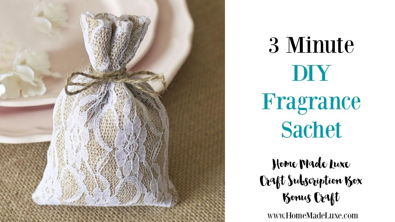 Diy Fragrance Sachet For Home And Car