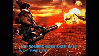 WAR COMMANDER SURVIVORS (105) ROMERO BOSS BASE  EASY WAY . FIRST TRY