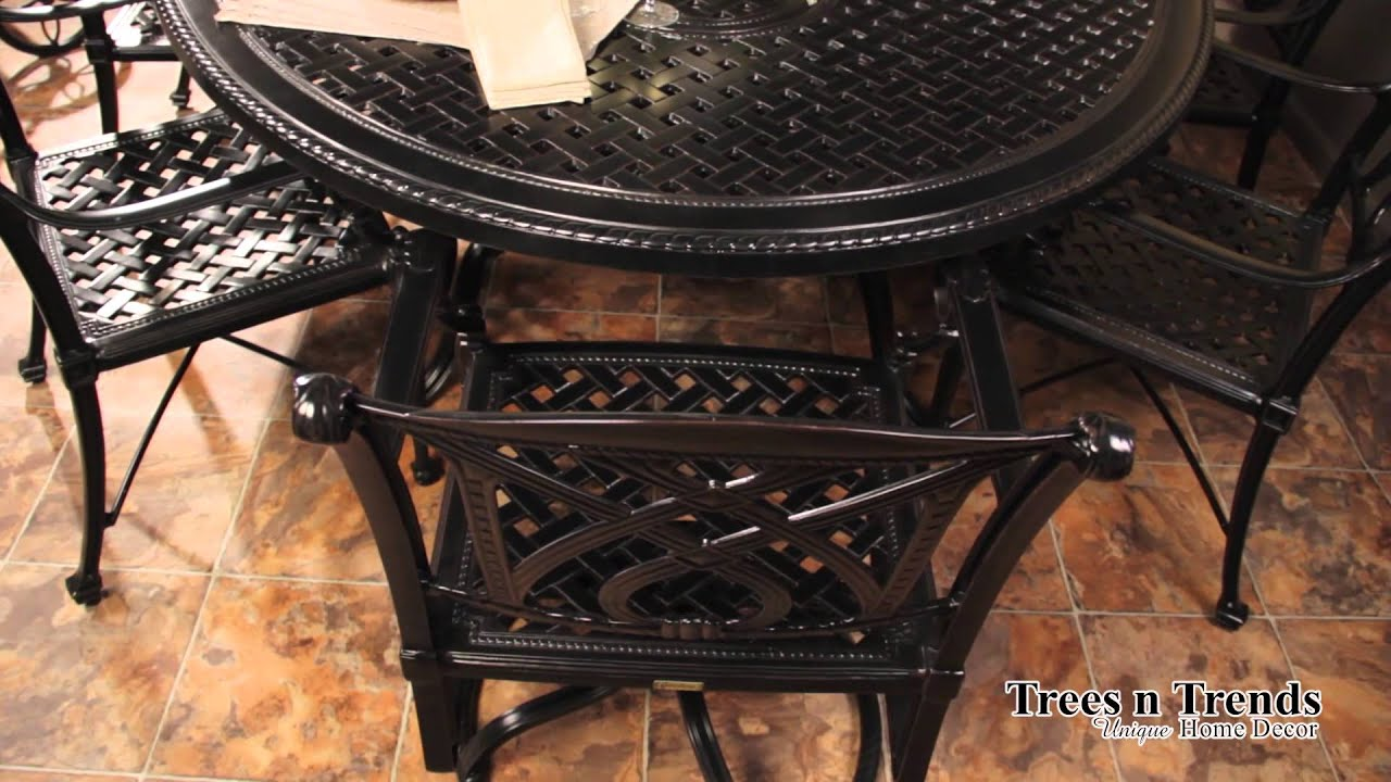 Gensun Grand Terrace Patio Furniture Overview