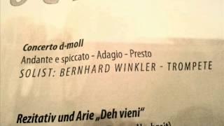 Gambar cover Concerto D Minor Marcello Trumpet- Bernhard Winkler