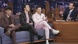 The Jonas Brothers Reveal the Cops Were Called Three Times During Joe's Bachelor Party!