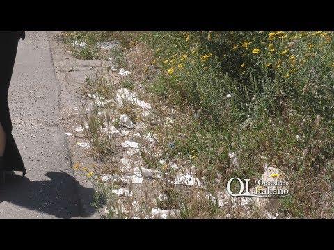 Bari, discarica del sesso in strada Glomerelli