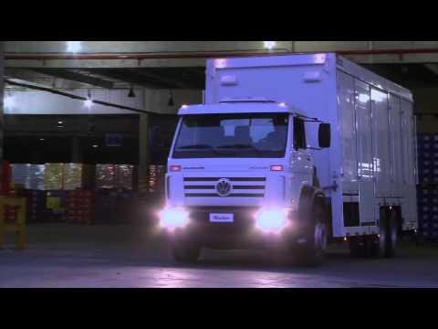 Linha VW Worker: robustez e resistência no transporte urbano.