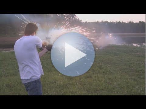 Glock 17 Explosive Ammo!