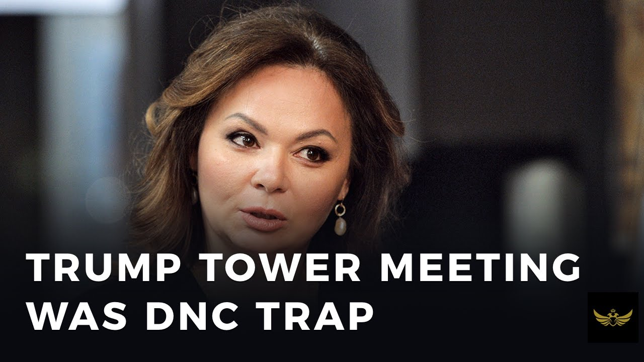 Trump Tower meeting with Russian lawyer revealed to be DNC trap