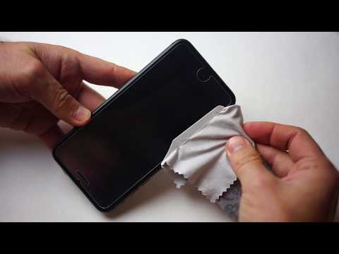 How remove and reinstall used tempered glass film screen protector