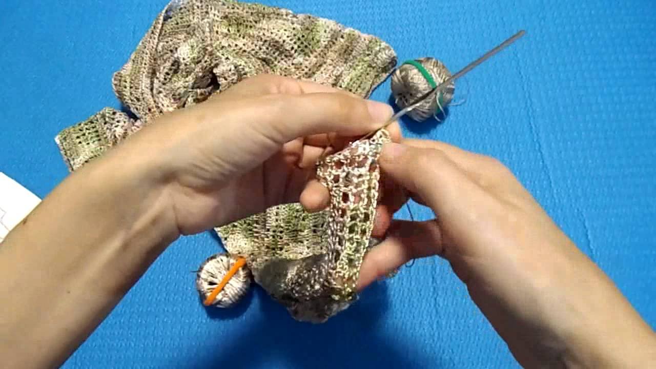 Крючки KnitPro, пряжа Maya и Tulip для ирландского вязания. Мои .