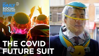 Will We All Be Wearing These COVID Super-Suits in the Future? | The Daily Social Distancing Show