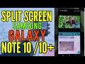 Cara Mudah Multitasking Galaxy note 10 atau Galaxy Note 10 Plus