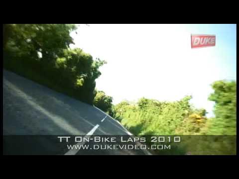 TT On-Bike Laps 2010 - John McGuinness - Superbike...