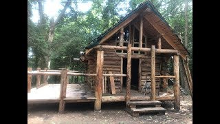 building a log cabin in solo pat 1