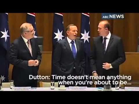Abbott thanks Dutton for refugee efforts