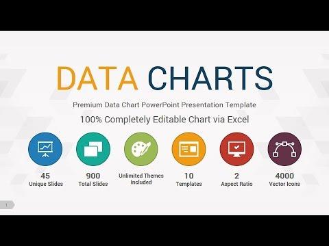 Data Charts 2 PowerPoint Presentation Template