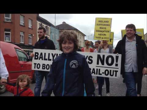 Ballyhea/Charleville bank bondholder bailout protest weeks 72 & 73
