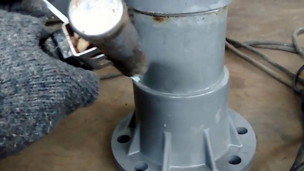 Pvc Pipe Welding Joint Youtube With How To Bend Electrical Conduit Together