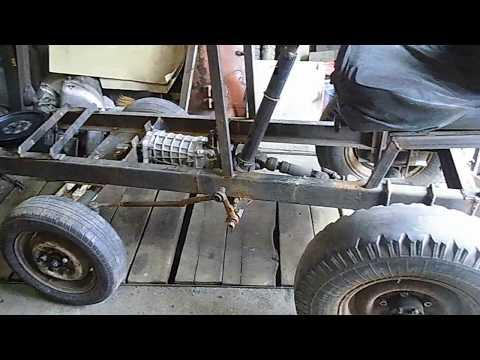 Как сделать самодельный   трактор .С чего начать.