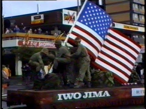 American Troops Return To New Zealand after 50 Years 1942-1992