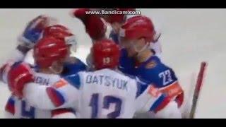 Казахстан 4:6 Россия ЧМ по хоккею 2016 Все голы HD (08.05.2016) Обзор