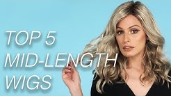 Top 5 Mid-length Wigs   Wigs 101