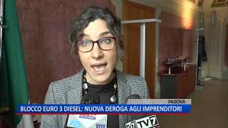 TG (12/11/2018) - BLOCCO EURO 3 DIESEL: NUOVA DEROGA AGLI IMPRENDITORI
