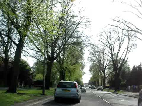 Driving from city centre to Bournville - April 10th, 2011