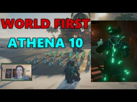 [Sea of Thieves] World first Athena's Fortune level 10