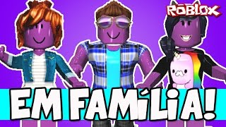 FLEEING THE PLAGUE IN THE FAMILY! -ROBLOX (The Plague) Ft. Milena