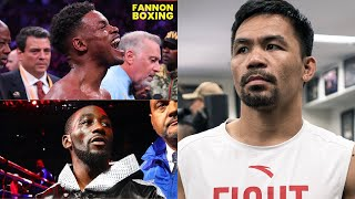(WOW!) ERROL SPENCE BETTER THAN TERENCE CRAWFORD SAYS PACQUIAO! BUD LOOKS LIKE SMALL TIME TO MANNY?
