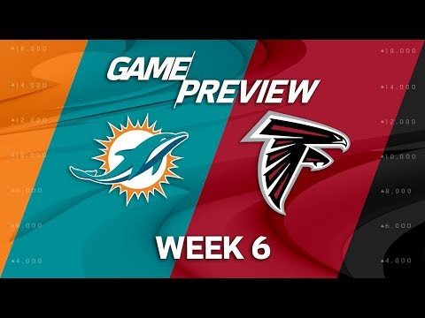 Miami Dolphins vs. Atlanta Falcons | Week 6 Game Preview | NFL Playbook