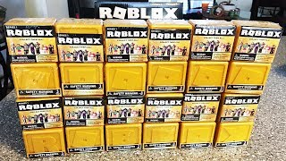 Opening a Full Case of Roblox Toys Blind Boxes from the Celebrity Series - Mystery Boxes