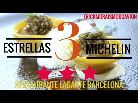 Cenando En Un 3 Estrellas Michelin, Restaurante Lasarte En Barcelona