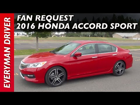 Here's the 2016 Honda Accord Sport Fan Request Video on Everyman Driver